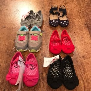 Size 6 toddler girl shoes